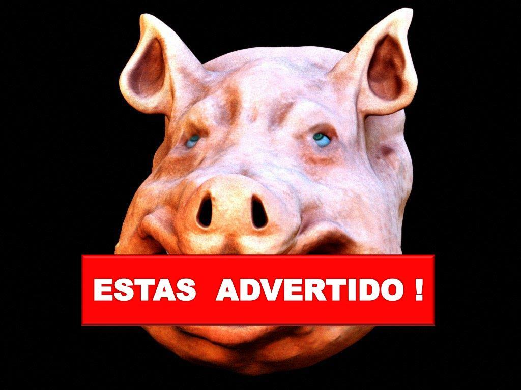 ESTAS  ADVERTIDO !
