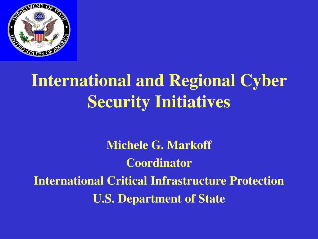 international and regional cyber security initiatives l.