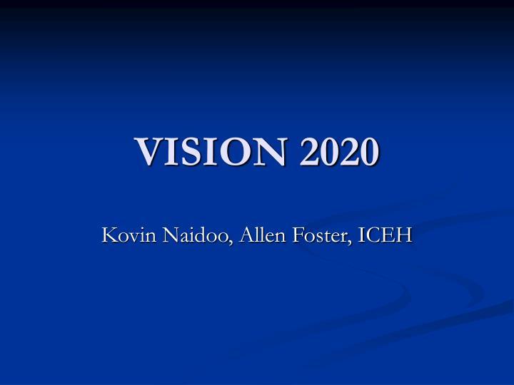 vision 2020 n.