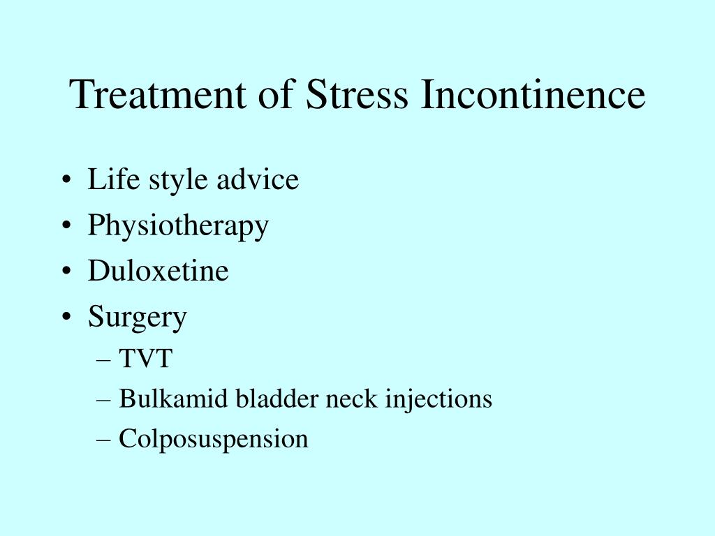 PPT - Urinary Incontinence PowerPoint Presentation, free ...
