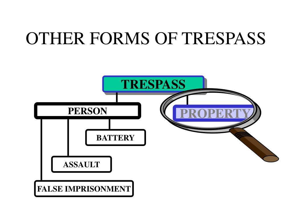 OTHER FORMS OF TRESPASS