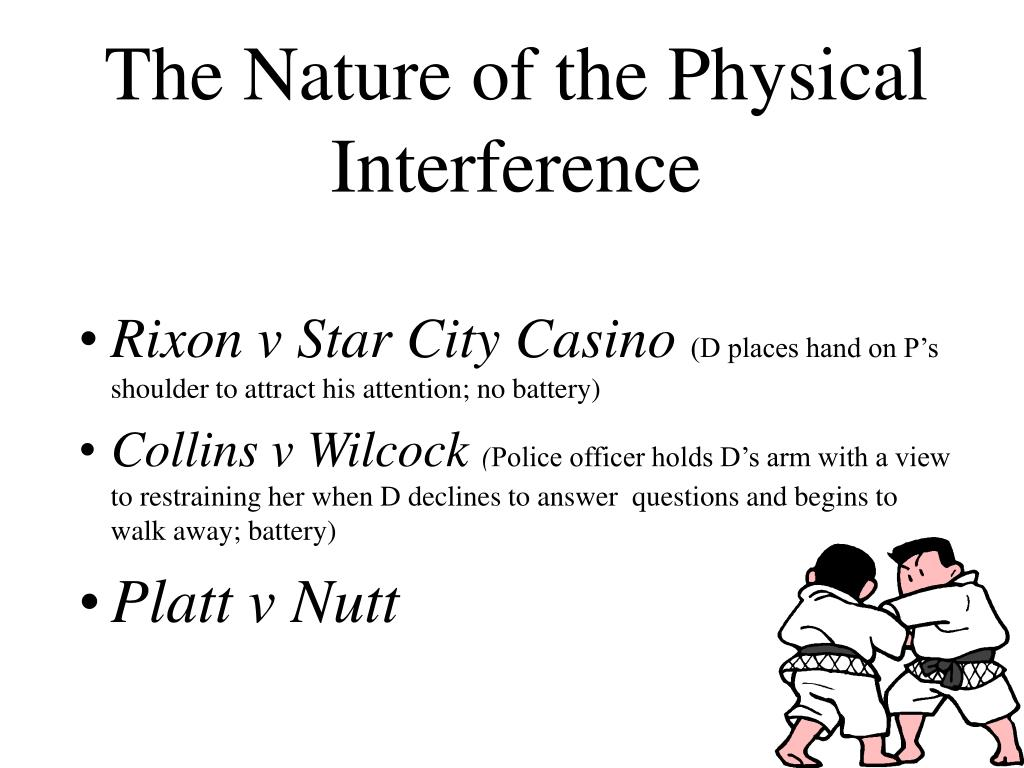 The Nature of the Physical Interference