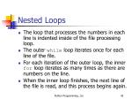 nested loops45