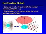 fast marching method17