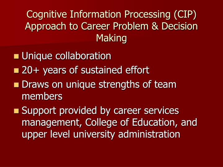 siegler information processing approach Big name in psychology, pioneer in info processing approach siegler posited that the key mental mechanisms (encoding, automaticity, strategy construction, and metacognition) change with age, producing an increasingly efficient mind in the first part of the life span.