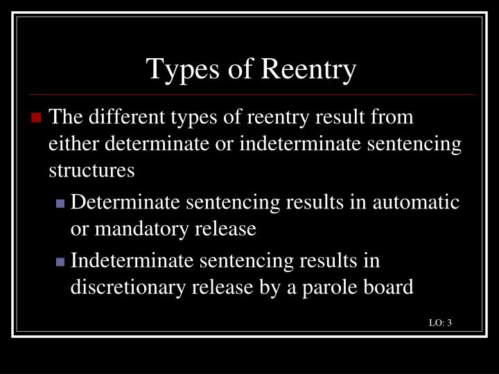 Types of Reentry