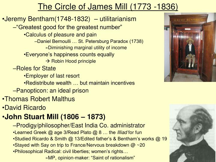 a comparison of the utilitarian philosophies of jeremy bentham and john stuart mill Essay on utilitarianism contributors to this theory are jeremy bentham and john stuart mill by 17th century philosopher john stuart mill.