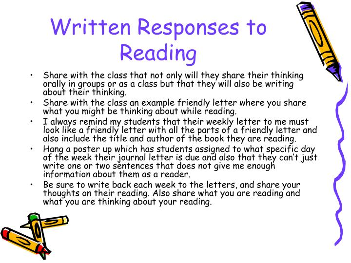 Written Responses to Reading