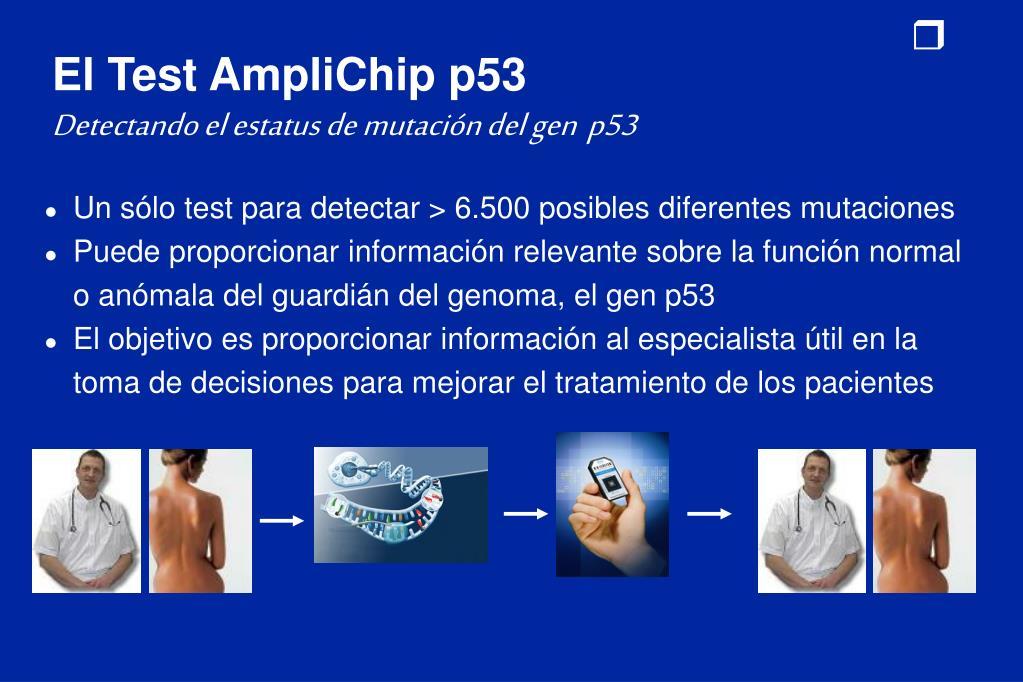 El Test AmpliChip p53
