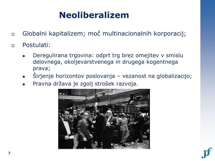 Neoliberalizem