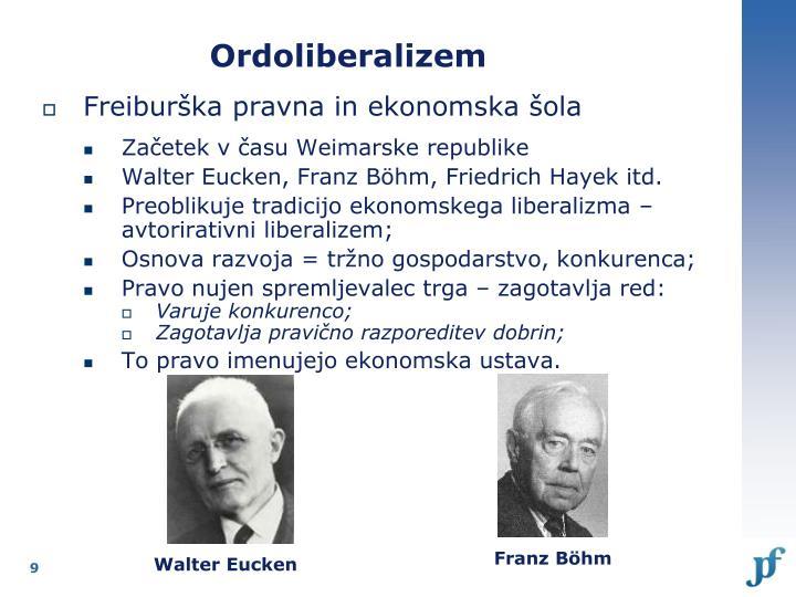 Ordoliberalizem