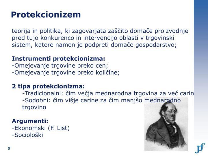 Protekcionizem