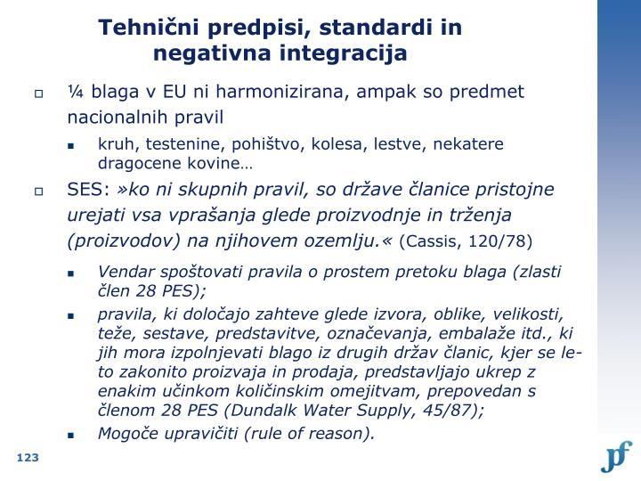 Tehnični predpisi, standardi in