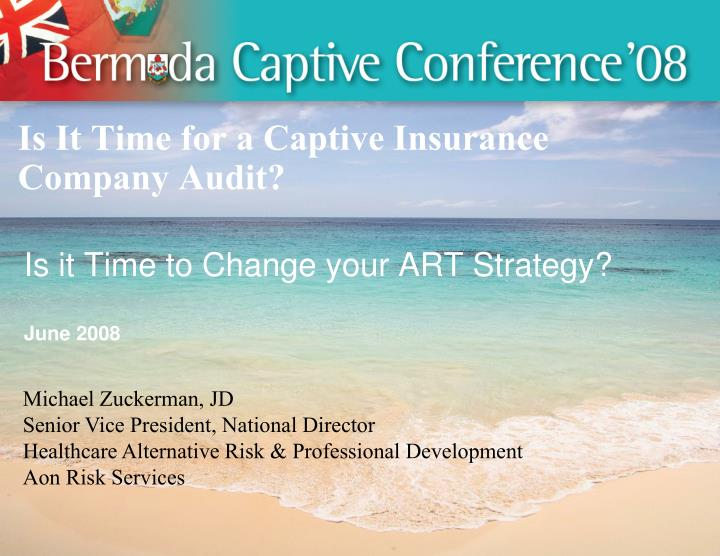 is it time for a captive insurance company audit n.