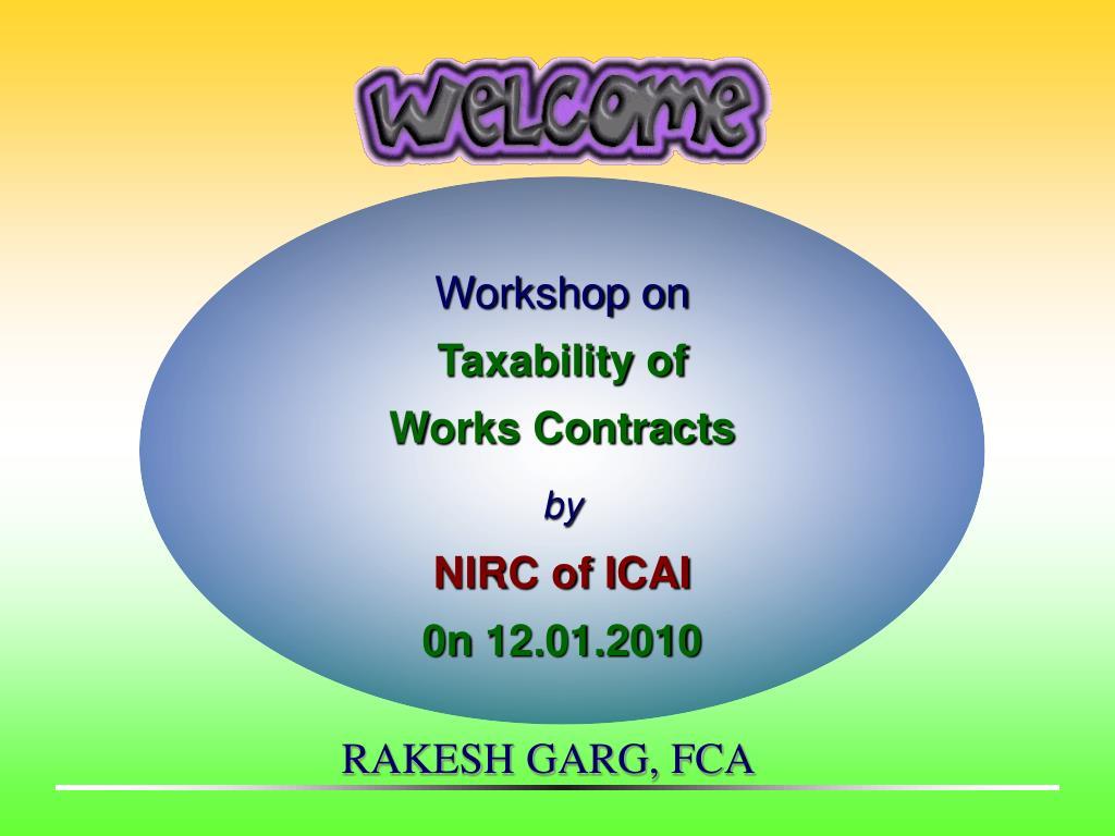 Workshop on