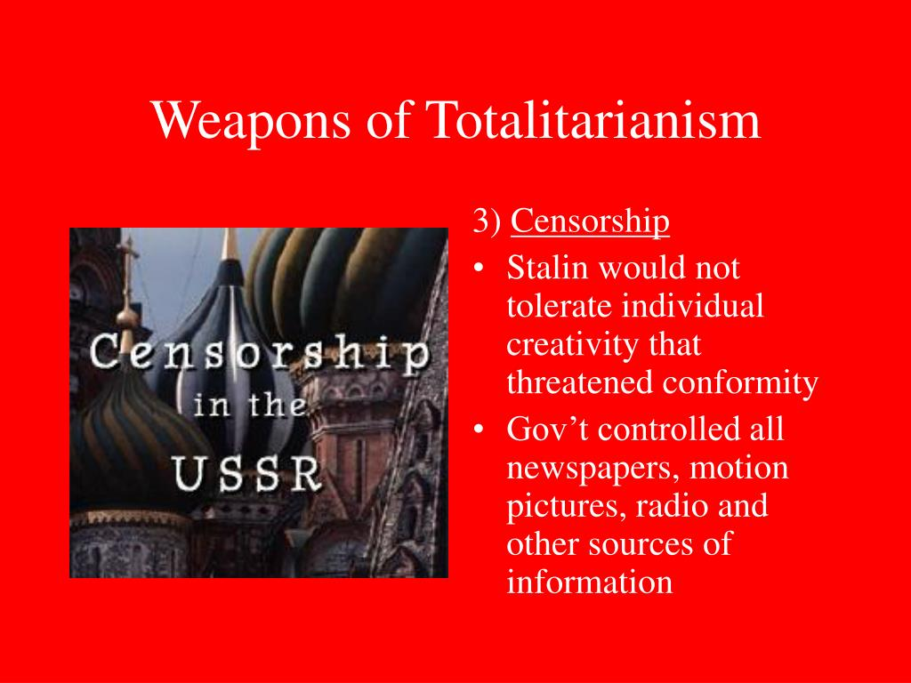 totalitarianism the government of the future Lecture 10 the age of totalitarianism: stalin and hitler: dictatorship seemed to be the wave of the future were the government.