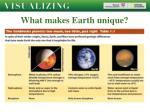 what makes earth unique20