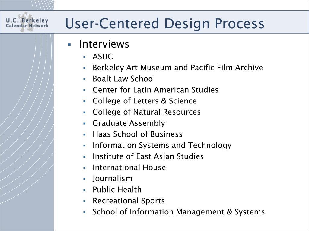 Berkeley Law Academic Calendar.Ppt U C Berkeley Calendar Network Final Masters Project
