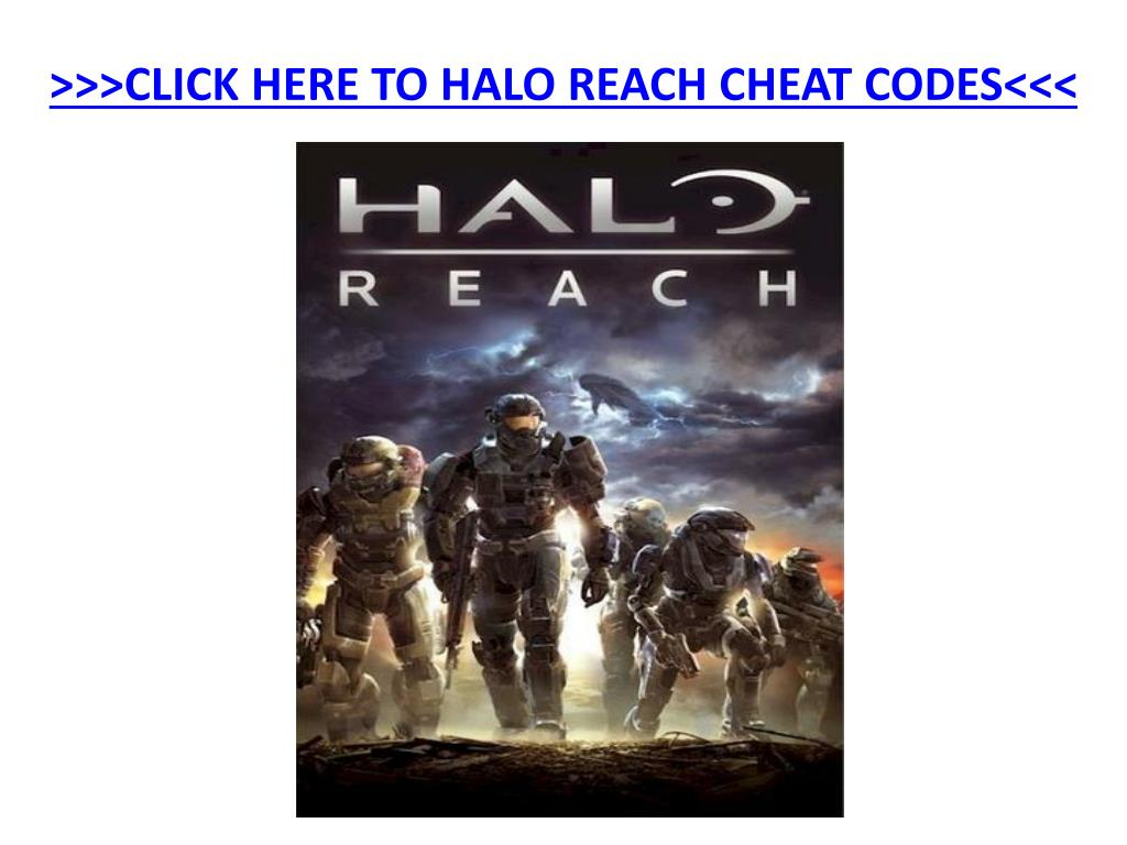 click here to halo reach cheat codes l.