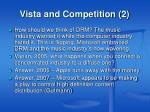 vista and competition 2