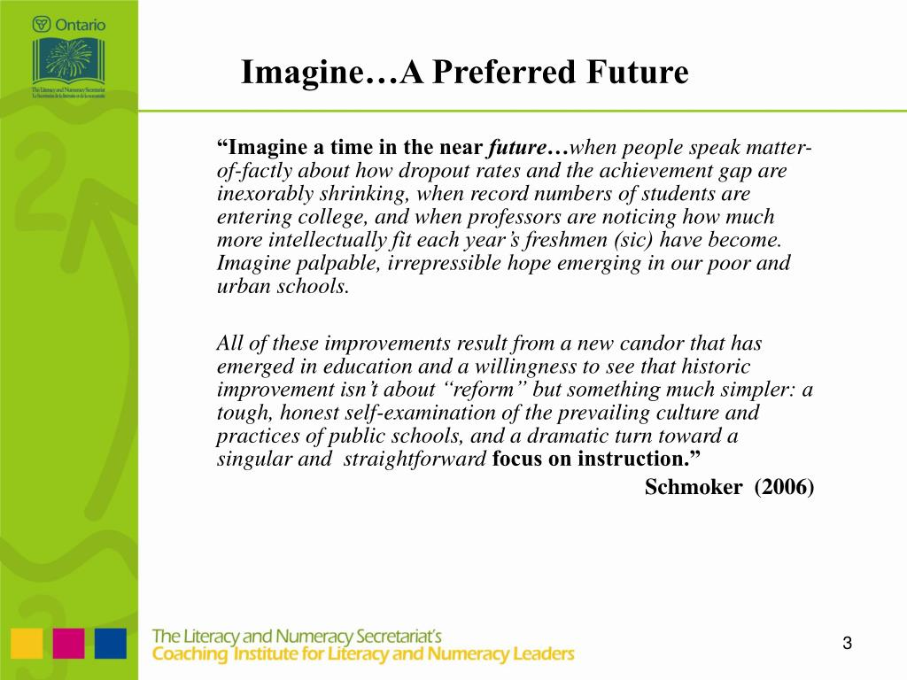 Imagine…A Preferred Future