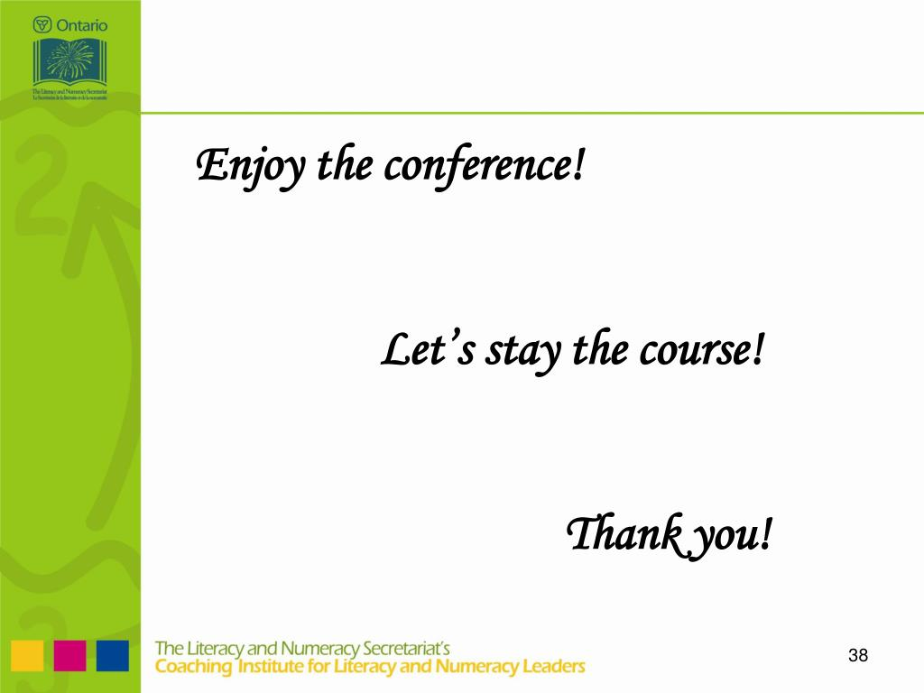 Enjoy the conference!