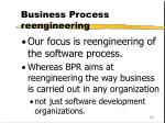 business process reengineering30