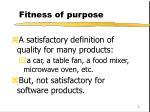 fitness of purpose5