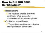 how to get iso 9000 certification54