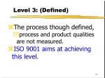level 3 defined93