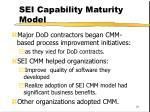 sei capability maturity model81