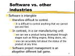 software vs other industries42