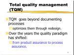 total quality management tqm31