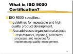 what is iso 9000 certification34