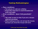 testing methodologies22