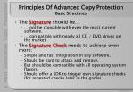 principles of advanced copy protection basic structures18
