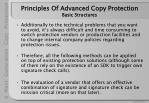 principles of advanced copy protection basic structures22