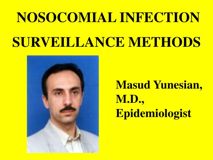 nosocomial infection n.