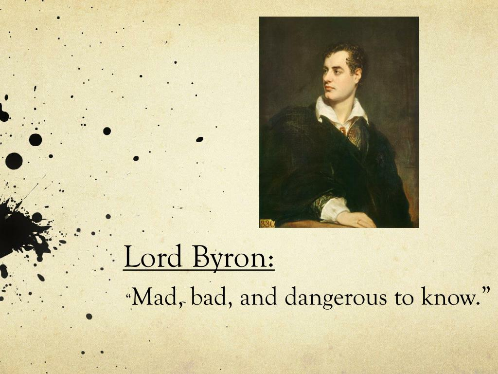 lord byron l.