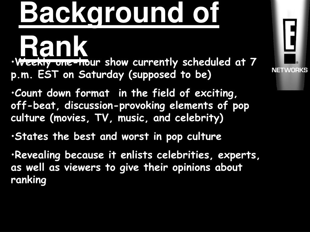 Background of Rank