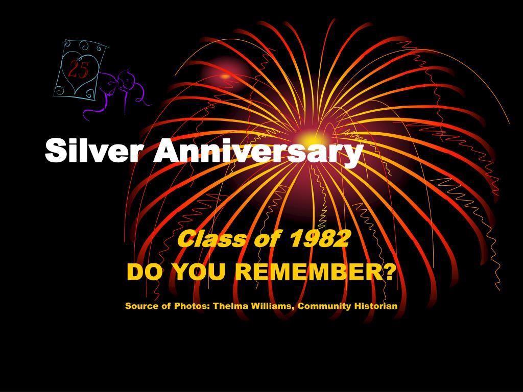 silver anniversary l.