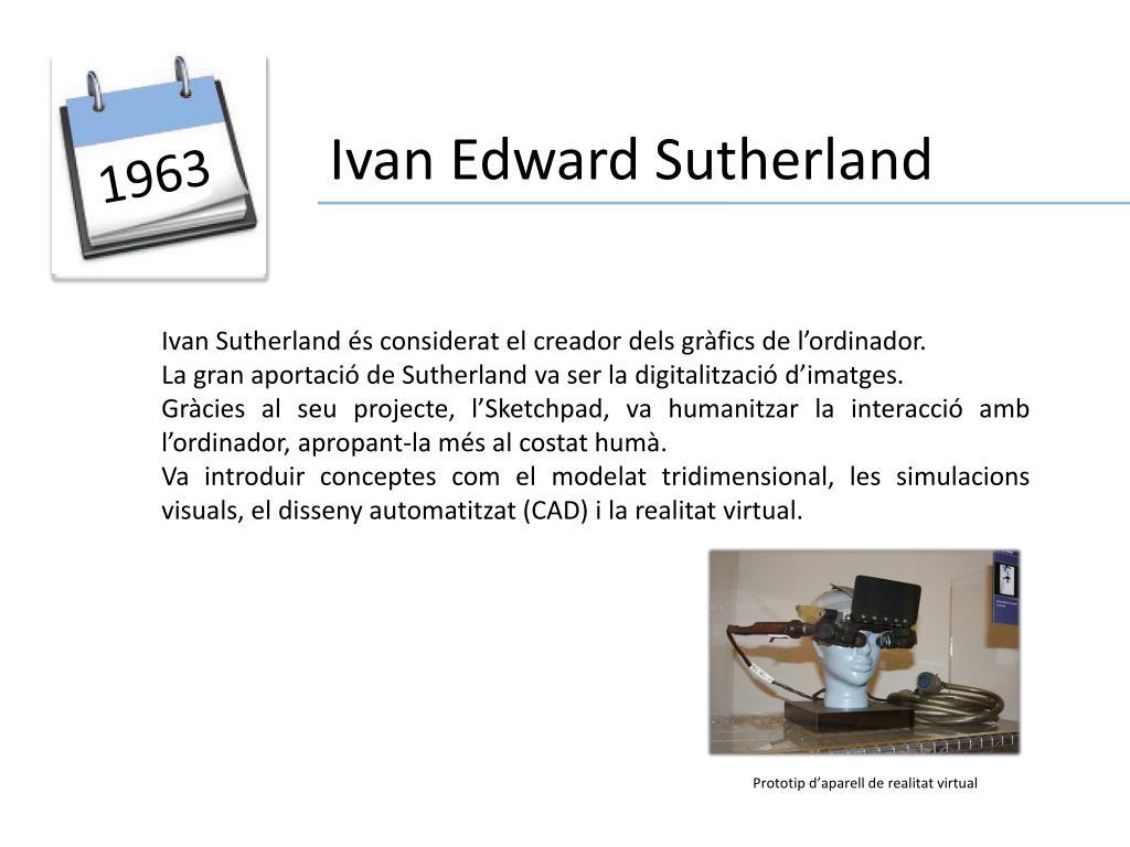 Ivan Edward Sutherland