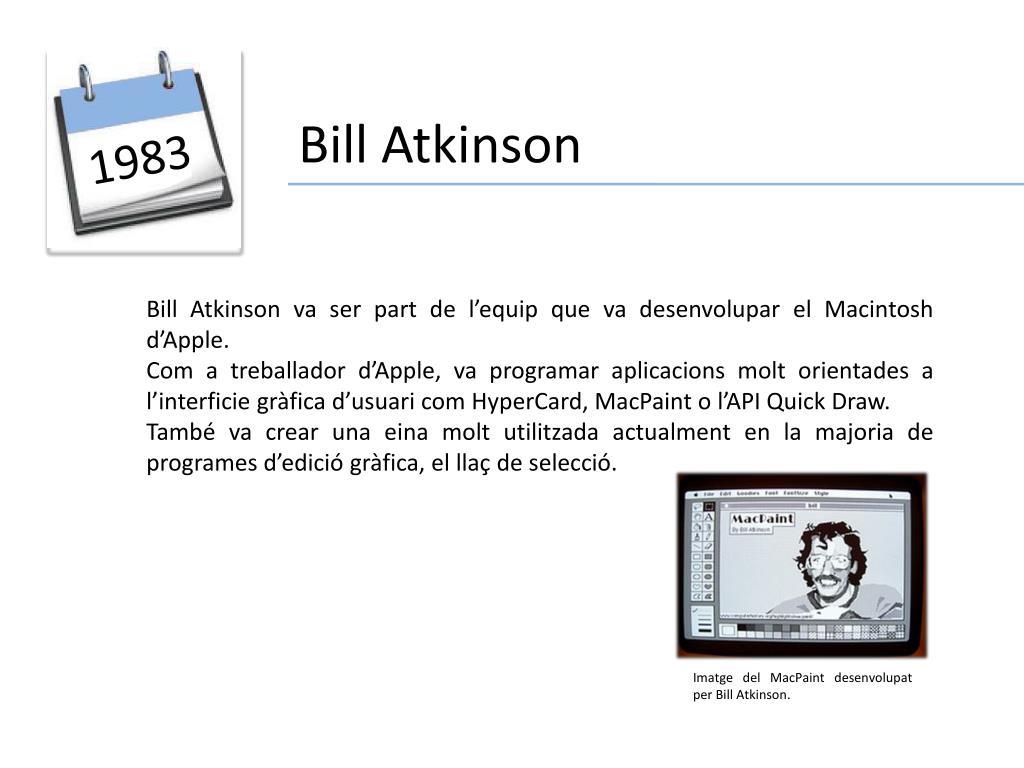 Bill Atkinson