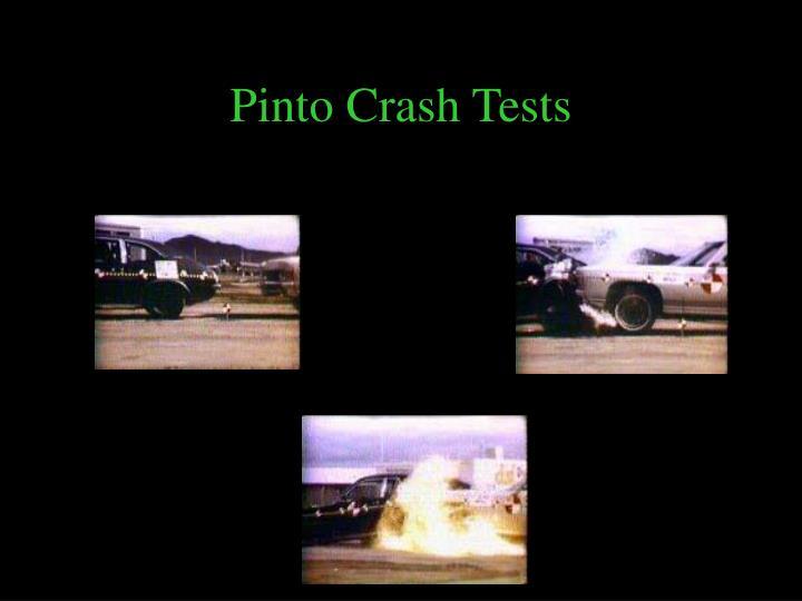 Pinto Crash Tests