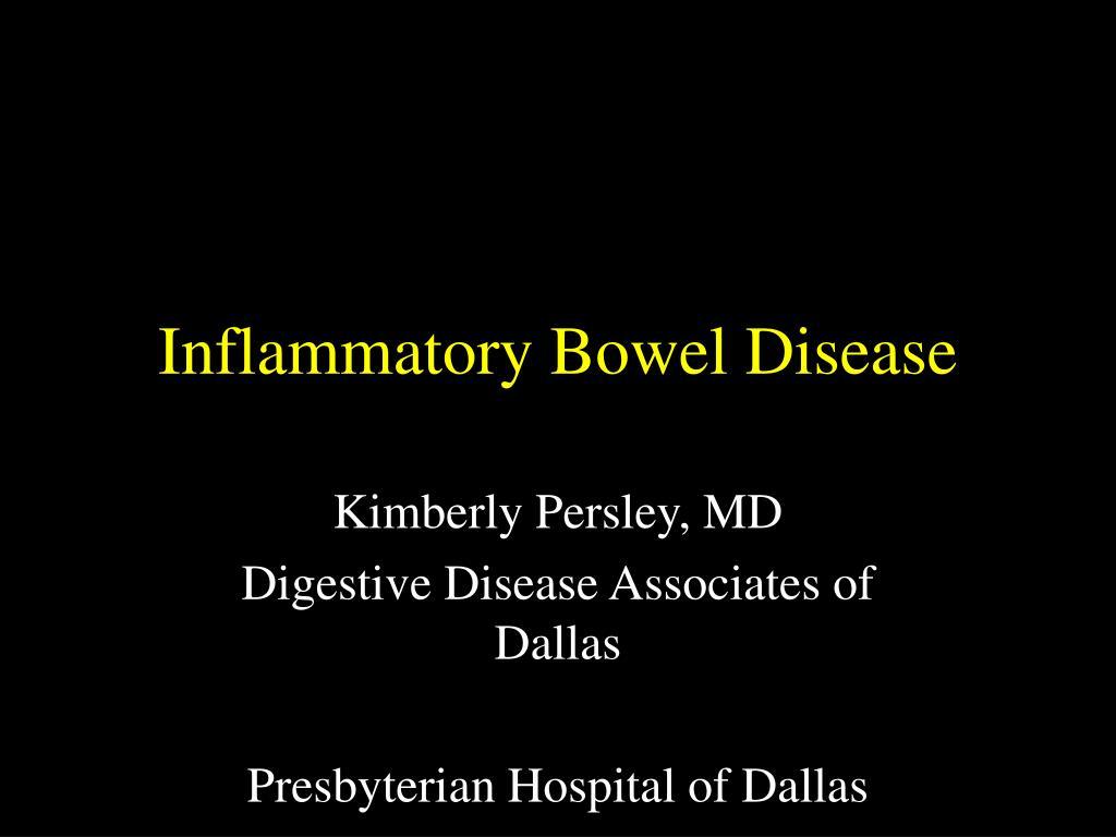 inflammatory bowel disease l.
