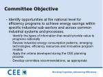 committee objective