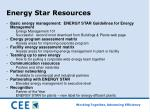 energy star resources
