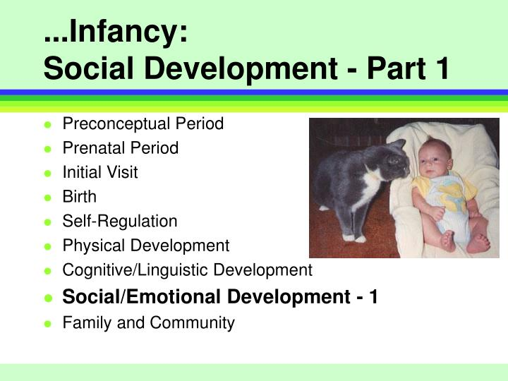 infant physical development Physical development is one domain of infant and toddler development it relates to changes, growth and skill development of the body, including development of muscles and senses this lesson will introduce developmental milestones in addition to influences on early physical growth and development.