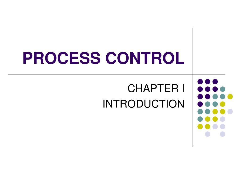 process control l.
