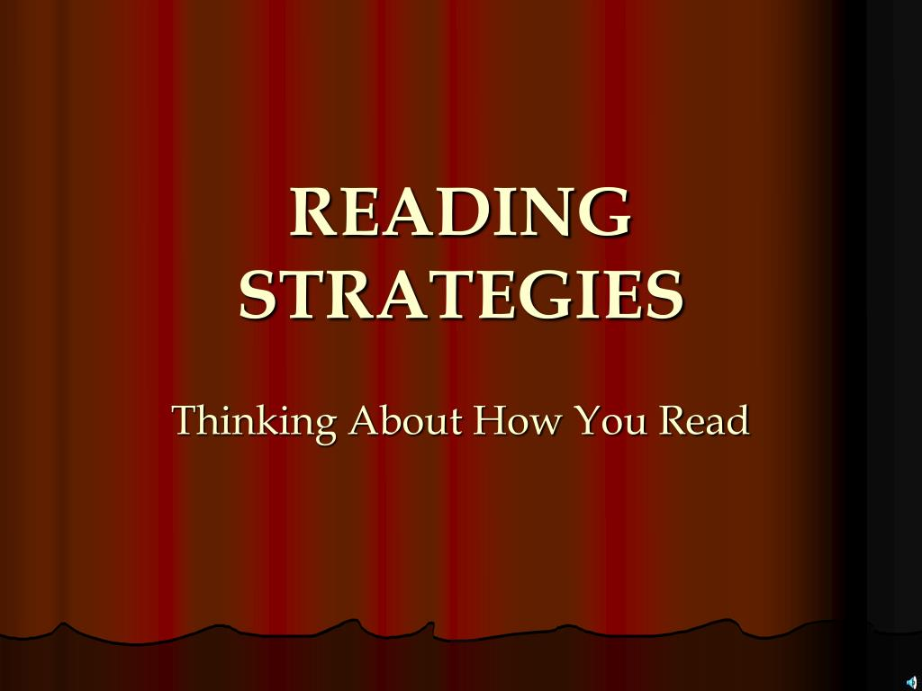 reading strategies l.